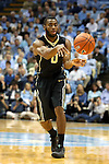 20 January 2016: Wake Forest's Codi Miller-McIntyre. The University of North Carolina Tar Heels hosted the Wake Forest University Demon Deacons at the Dean E. Smith Center in Chapel Hill, North Carolina in a 2015-16 NCAA Division I Men's Basketball game. UNC won the game 83-68.