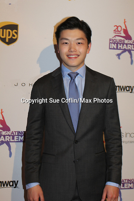 Alex Shibutani - Figure Skating in Harlem celebrates 20 years - Champions in Life benefit Gala on May 2, 2017 in New York Ciry, New York.   (Photo by Sue Coflin/Max Photos)