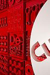Architectural Graphics at Cummins World Headquarters | Designers: Spagnola & Associates