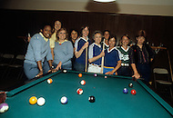 San Francisco, CA &ndash; August 28th 1982<br /> The first Gay Olympic game, the pool table competition.