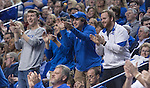 Fans cheer on the Cats during the game against the Florida Gators at Rupp Arena on February 6, 2016 in Lexington, Kentucky. Kentucky defeated Florida 80-61.