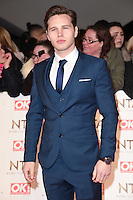 Danny Walters at the National TV Awards 2017 held at the O2 Arena, Greenwich, London. <br /> 25th January  2017<br /> Picture: Steve Vas/Featureflash/SilverHub 0208 004 5359 sales@silverhubmedia.com