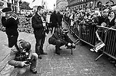 Warsaw 14 April 2010 Poland.<br /> Mourning after the crash of the plane, in which killed President Lech Kaczynski and his wife Maria<br /> (Photo by Filip Cwik / Newsweek Poland / Napo Images)<br /> <br /> Warszawa 14 kwiecien  2010 Polska.<br /> Zaloba po katastrofie samolotu, w ktorej zginal Prezydent RP Lech Kaczynski wraz z zona Maria<br /> (fot. Filip Cwik / Newsweek Polska / Napo Images)
