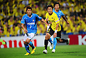 Kenichi Kaga (Jubilo), Hideaki Kitajima (Reysol), JUNE 15th, 2011 - Football :.2011 J.League Division 1 match between Kashiwa Reysol 0-3 Jubilo Iwata at Hitachi Kashiwa Soccer Stadium in Chiba, Japan. (Photo by AFLO).