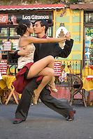 Tango Dancers, Argentina.