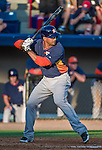 10 March 2014: Houston Astros infielder Jesus Guzman in action during a Spring Training game against the Washington Nationals at Space Coast Stadium in Viera, Florida. The Astros defeated the Nationals 7-4 in Grapefruit League play. Mandatory Credit: Ed Wolfstein Photo *** RAW (NEF) Image File Available ***