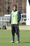 10 December 2009: Akron's Teal Bunbury. The University of Akron Zips held a training session at Koka Booth Stadium at WakeMed Soccer Park in Cary, North Carolina on the day before playing North Carolina in an NCAA Division I Men's College Cup semifinal game.