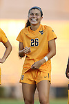 09 September 2016: West Virginia's Vanessa Flores. The Duke University Blue Devils hosted the West Virginia University Mountaineers at Koskinen Stadium in Durham, North Carolina in a 2016 NCAA Division I Women's Soccer match. West Virginia won the match 3-1.