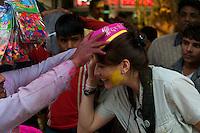 Pre Holi Festival in Old Delhi India