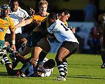 Albert Anae barges through the Fiji defence. Australia U20 V Fiji U20. IRB Junior Rugby World Cup 2008© Ian Cook IJC Photography iancook@ijcphotography.co.uk www.ijcphotography.co.uk.