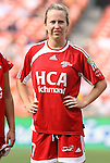 22 June 2008: Richmond's Jessica Varela. The Washington Freedom defeated the Richmond Kickers Destiny 5-0 at RFK Stadium in Washington, DC in a United Soccer Leagues W-League friendly.