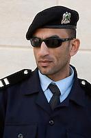 Susa, Apollonia, Libya - Libyan Policeman
