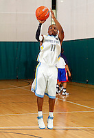 April 9, 2011 - Hampton, VA. USA; Aaron McGlawn Jr. participates in the 2011 Elite Youth Basketball League at the Boo Williams Sports Complex. Photo/Andrew Shurtleff