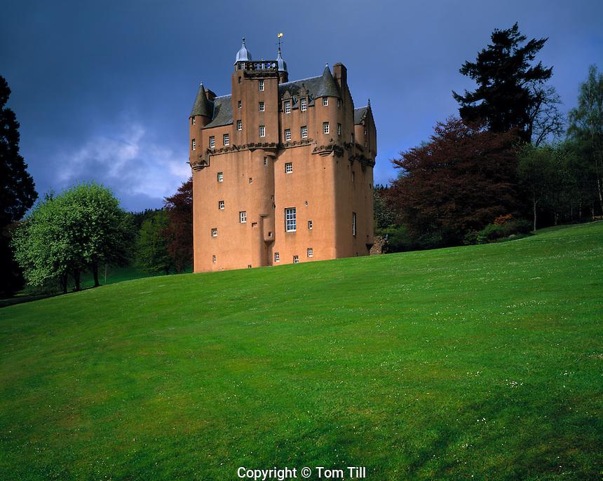 Craigievar Castle, Scottish Highlands, Scotland, United Kingdom     From 1626     One of Scotland's most picturesque castles