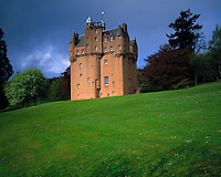 Craigievar Castle, Scottish Highlands, Scotland, United Kingdom     From 1626     One of Scotland's most picturesque castles
