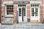Seaport: Fulton Stall Market & Front St.