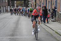 Tim Wellens (BEL/Lotto Soudal) tries to escape from the peloton up the brutal C&ocirc;te de Saint-Nicolas <br /> <br /> 103rd Li&egrave;ge-Bastogne-Li&egrave;ge 2017 (1.UWT)<br /> One Day Race: Li&egrave;ge &rsaquo; Ans (258km)