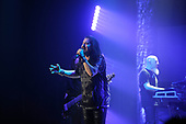 DREAM THEATER - James LaBrie and Jordan Rudess - performing live at the Eventim Apollo in Hammersmith London UK - 23 Apr 2017.  Photo credit: Zaine Lewis/IconicPix