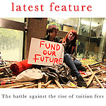 The huge student demonstration against the rise of tuition fees by tens of thousands of students and lecturers on the 10th of November 2010 descended into violence when a group of protesters smashed their way into the headquarters of the Conservative party