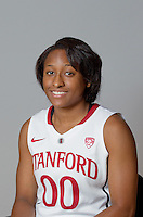 Alex Green with Stanford Women's basketball team. Photo taken on Wednesday, October 2, 2013