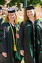 Mariah Stump, left, Andrea Steely. Class of 2012 commencement.