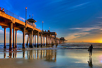 Huntington Beach Stock Photography