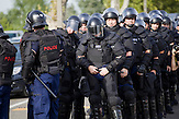 Am Mittwoch kam es an der serbisch-ungarischen Grenze zu Ausschreitungen zwischen Flüchtlingen und der Polizei.