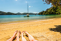 Holiday at Governors Bay in Marlborough Sounds, Nelson Region, Marlborough, South Island, New Zealand