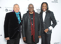 NEW YORK, NY - APRIL 19: Members of Earth, wind and Fire attends  'Clive Davis: The Soundtrack of Our Lives' 2017 Opening Gala of the Tribeca Film Festival at Radio City Music Hall on April 19, 2017 in New York City. <br /> CAP/MPI/JP<br /> &copy;JP/MPI/Capital Pictures