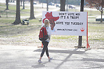 University of Mississippi students voted on whether to get a new mascot in Oxford, Miss. on Tuesday, February 23, 2010. Students voted overwhelmingly yes for a new mascot.