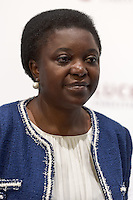 Italian minister Cécile Kyenge is seen during the 70th Venice International Film Festival on September 2, 2013 in Venice. (Photo by Adamo Di Loreto/BuenaVista*photo)