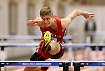 NAPERVILLE, IL - MARCH 11: Brent Di Vittorio of Cortland competes in the decathlon during the Division III Men's and Women's Indoor Track and Field Championship held at the Res/Rec Center on the North Central College campus on March 11, 2017 in Naperville, Illinois. (Photo by Steve Woltmann/NCAA Photos via Getty Images)