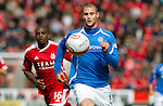 Aberdeen v St Johnstone... 23.07.11   SPL Week 1.Marcus Haber who signed for saints last night.Picture by Graeme Hart..Copyright Perthshire Picture Agency.Tel: 01738 623350  Mobile: 07990 594431