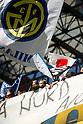 Japanese flag, MARCH 20, 2011 - Football : Italian Serie A 2010-2011, match between F.C. Internazionale 1-0 Lecce at Giuseppe Meazza - San Siro Stadium, Milan, Italy, (Photo by Enrico Calderoni/AFLO SPORT) [0391]