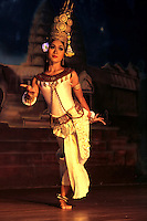 "Khmer classical dance, the indigenous ballet-like performance art of Cambodia, is frequently called ""Apsara Dance."" This appellation reflects the belief that the Khmer classical dance of today is connected by an unbroken tradition to the dance practiced in the courts of the Angkorian monarchs, which in turn drew its inspiration from the mythological court of the gods and from its celestial dancers, the Apsaras."