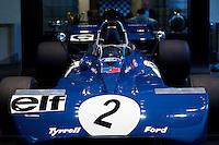 08/09/09 Jackie Stewart opens F1 Car Display