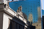Grand Central Station in New york City in October 2008