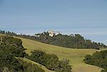 California, San Luis Obispo County: Hearst Castle State Park, formerly the palatial hillside home of publisher William Randoph Hearst..Photo caluis205-70973..Photo copyright Lee Foster, www.fostertravel.com, 510-549-2202, lee@fostertravel.com