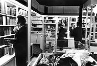 Paris, August 1977. Librairie De La Rue Richer. Vie Quotidienne des Juifs a Paris.