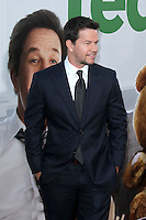 "LOS ANGELES - JUN 21:  Mark Wahlberg arrives at the ""Ted"" Premiere at Village Theater on June 21, 2012 in Westwood, CA"