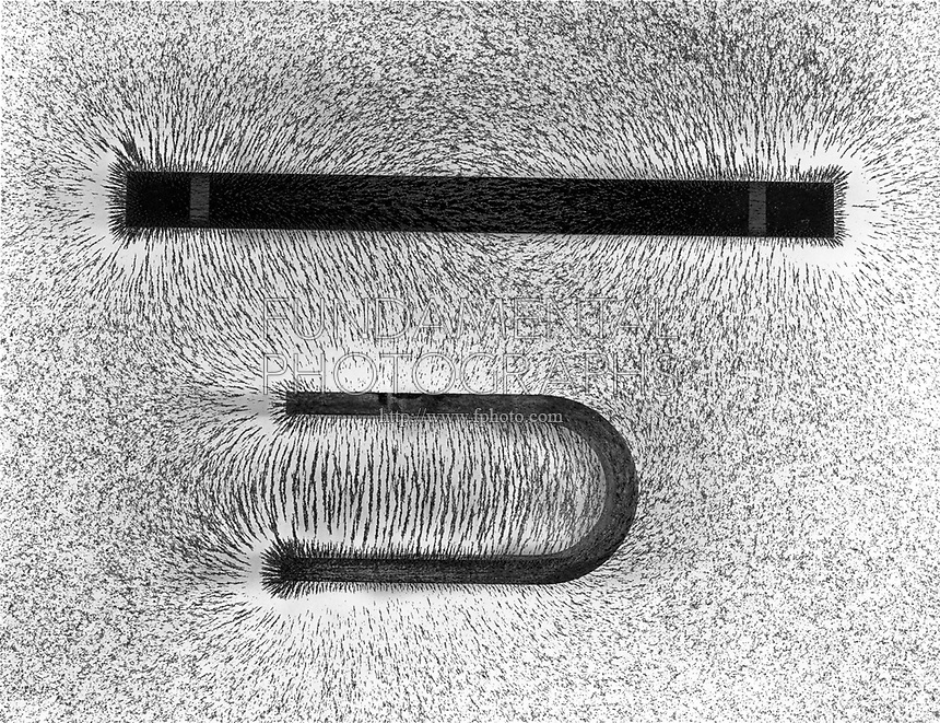 MAGNETIC FIELD OF BAR AND HORSESHOE MAGNETS
