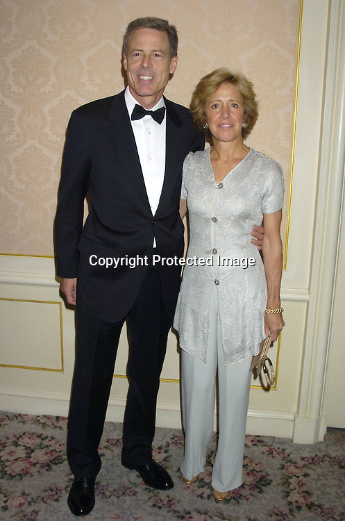 Jeffrey Bewkes and wife Peggy ..at the Museum of The Moving Image Honors Gala honoring Jeffrey Bewkes and Leslie Moonves on May 4, 2005 at The St Regis Hotel. ..Photo by Robin Platzer, Twin Images