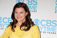 BEVERLY HILLS, CA - NOVEMBER 03: Heather Tom at 'The Bold And The Beautiful' live script read and panel at The Paley Center for Media on November 3, 2016 in Beverly Hills, California.  Credit: David Edwards/MediaPunch