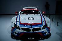 The BMW Z4 GTLM is seen during the International Auto Show 2015 in New York. 04.06.2015. Eduardo MunozAlvarez/VIEWpress.
