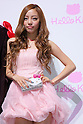 "HARA (KARA), June 29, 2011, posing with Hello Kitty Jewerly as the Swarovski and Hello Kitty collaboration jewelry line - Swarovski presents ""House of Hello Kitty"" makes a debut at Omotesando Hills in Tokyo, Japan. This is also a charity event to help the Earthquake victims of Japan."