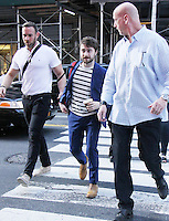 NEW YORK, NY- AUGUST 15: Daniel Radcliffe seen in New York City on August 15, 2016. Credit: RW/MediaPunch