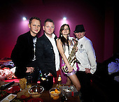 WARSAW, POLAND, FEB 2013:.Band MIG during disco polo night at the Freedom club. Disco polo is a type of dance music which originated in rural areas of Poland. Though considered tacky by many people, it is becoming incredibly popular.(Photo by Piotr Malecki / Napo Images)..Warszawa, luty 2013:.Zespol MIG na imprezie disco polo w warszawskim klubie Freedom.Fot: Piotr Malecki / Napo Images
