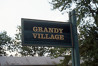 1997 August 07..Assisted Housing..Grandy Village..Entrance sign.CAPTION...NEG#.NRHA#..