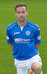 St Johnstone FC 2014-2015 Season Photocall..15.08.14<br /> Steven MacLean<br /> Picture by Graeme Hart.<br /> Copyright Perthshire Picture Agency<br /> Tel: 01738 623350  Mobile: 07990 594431