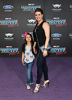 """HOLLYWOOD, CA - April 19: Alicia Machado, Dinorah Valentina Hernandez, At Premiere Of Disney And Marvel's """"Guardians Of The Galaxy Vol. 2"""" At The Dolby Theatre  In California on April 19, 2017. Credit: FS/MediaPunch"""